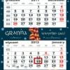 """32. Kalendarz zdzierak """"Loch Ness"""""""